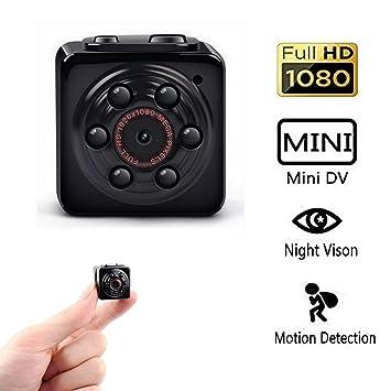 Mini cámara espía oculta, PANNOVO Deportes de mini cámara de vídeo DV HD 1080P 12.0