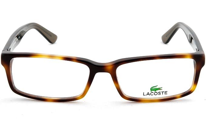 d6dfce804e Amazon.com  Lacoste L2685 Havana 53mm Eyeglasses