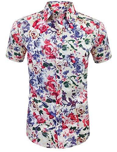 Daupanzees Men's Hawaiian Shirts Unisex ...