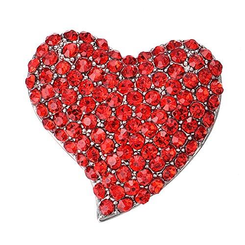 Birthstone Heart Pin - 2