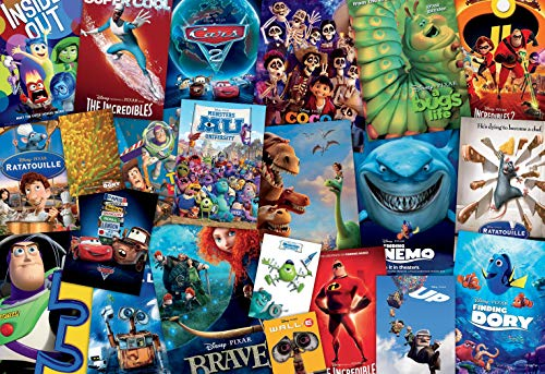 Ceaco Disney/Pixar Movie Posters Puzzle - 2000Piece