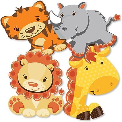 Amazon.com: funfari – divertido Safari Jungle – jirafa, león ...
