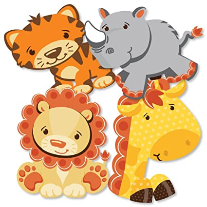 Amazon Funfari Fun Safari Jungle Giraffe Lion Tiger And