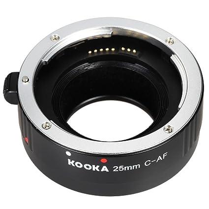 Andoer® KOOKA KK-C25A 25mm AF de Enfoque Automático Primer Plano ...