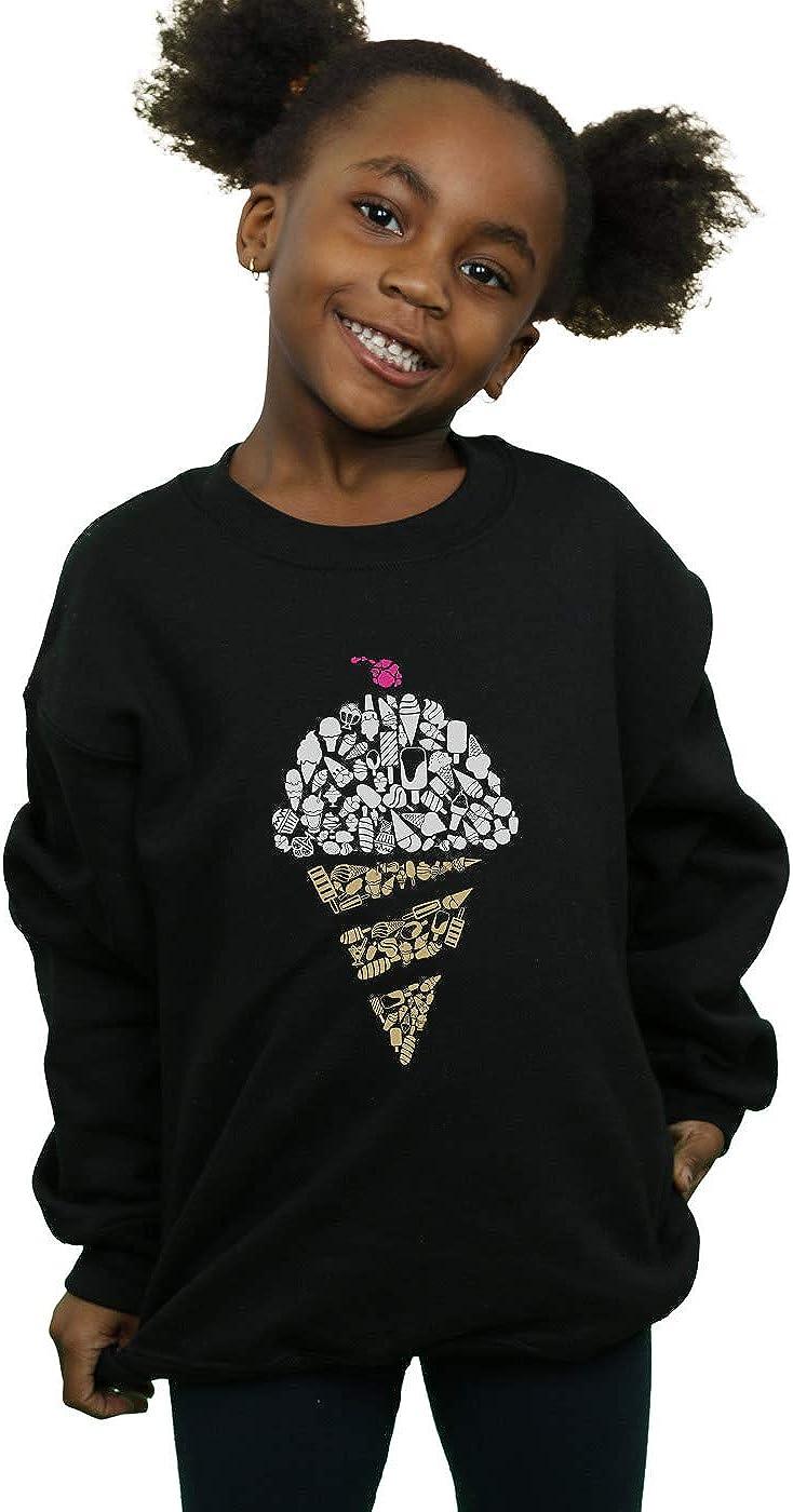 Drewbacca Girls Ice Cream Sweatshirt