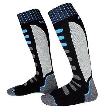 1 Par de Calcetines de Esquí Calecetines para Deportes de Invierno al Aire Libre Snowboard Senderismo
