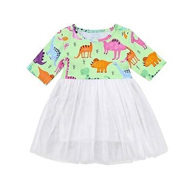 Amazon.com: Bebé vestidos, dinosaurio ropa vestido de ...