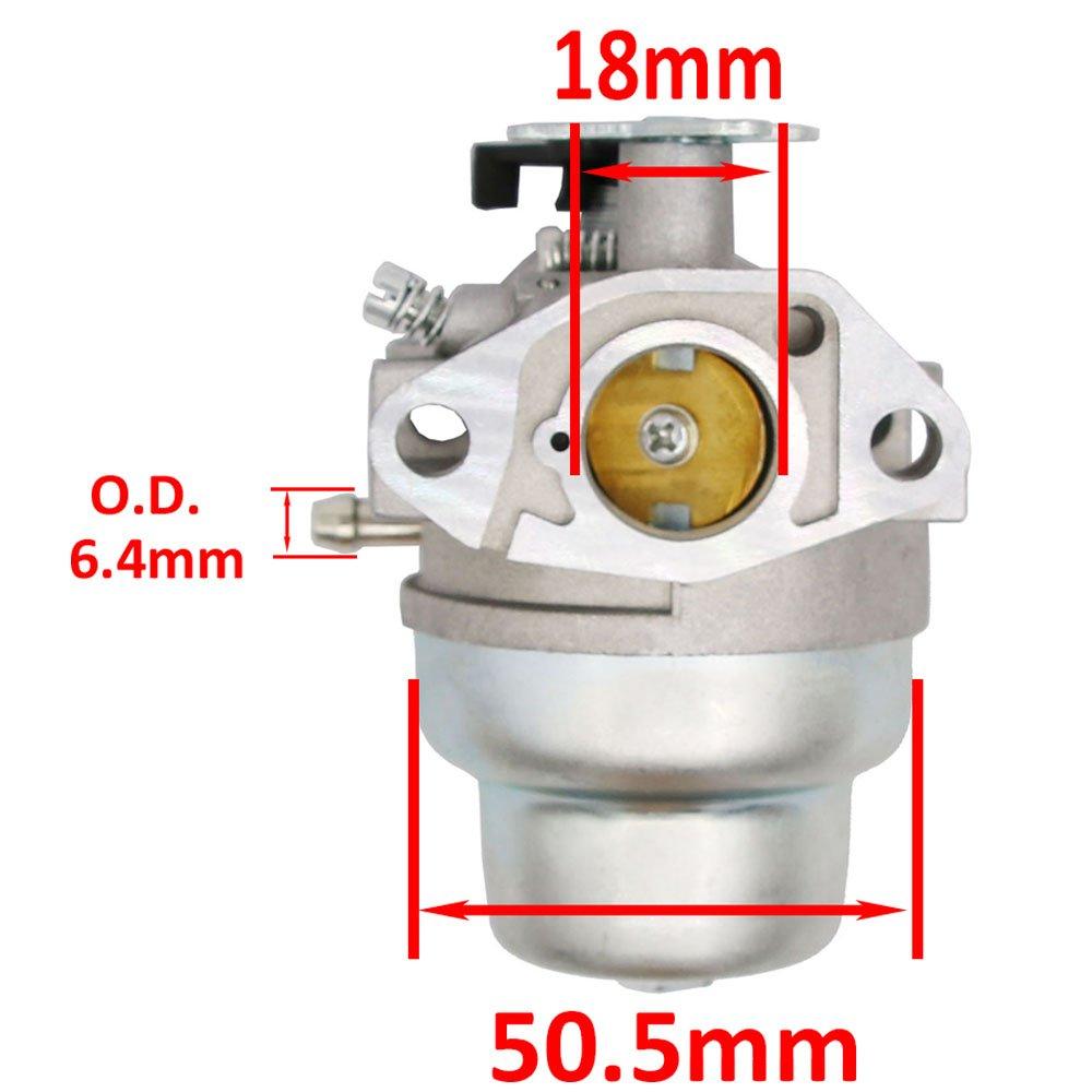 GCV160 Carburetor for Honda HRT216 HRR216 GCV160a HRS216 - Honda GCV160 Carburetor by HOOAI (Image #3)