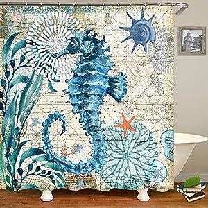 61U%2BJL3TtJL._SS300_ Beach Shower Curtains & Nautical Shower Curtains