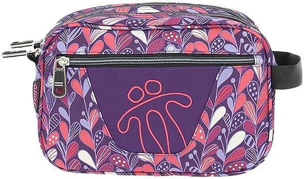 Totto AC52ECO010-1810Z-7MN Estuche Escolar Dos Compartimentos Estampado Morado, Plastilina, 26 cm: Amazon.es: Equipaje