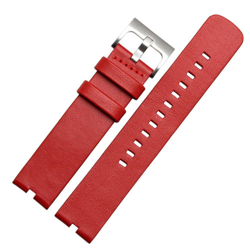 WayIn® De cuero correa de reloj de la venda para Motorola Moto 360 (primera generación) SmartWatch 22mm Moto 360 hombres del reloj de venda de 46mm ...