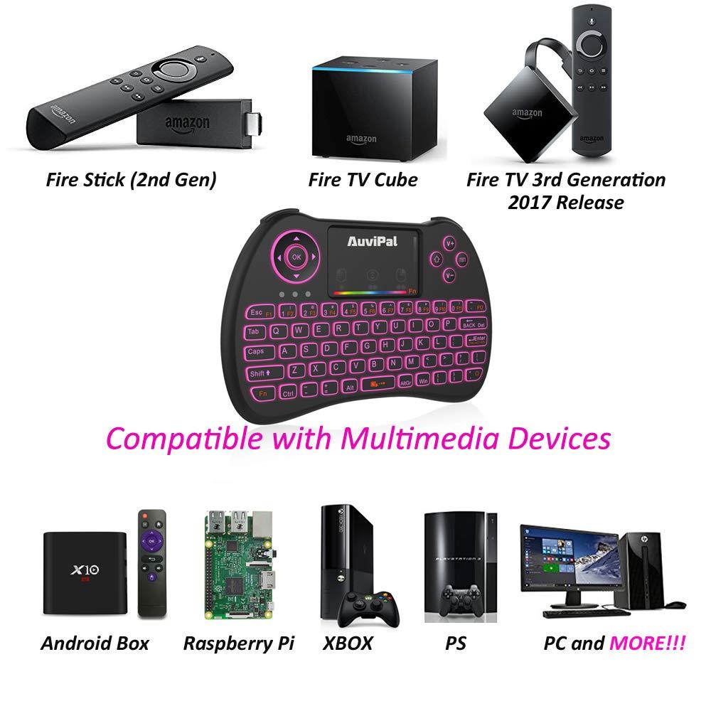 Amazoncom Auvipal R9 24ghz Mini Wireless Keyboard Mouse Combo