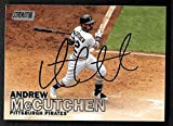 Andrew McCutchen Pittsburgh Pirates autographed signed 2016 Topps card - - (Near Mint Condition)