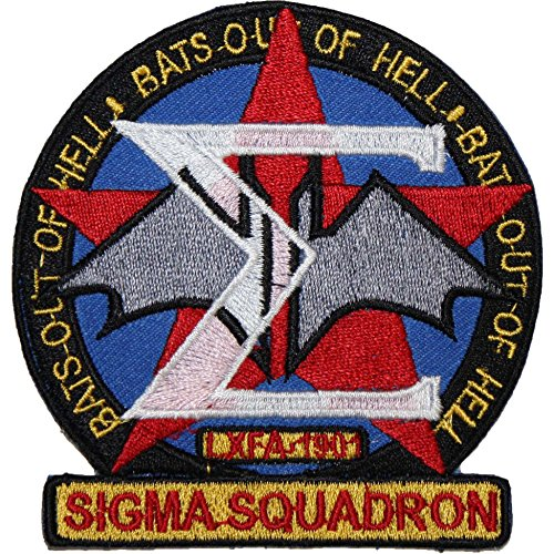 Babylon 5 Sigma Squadron EMBROIDERED PATCH Badge Iron Sew On 3.5""