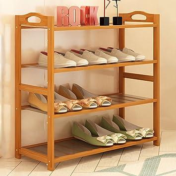 4-stufige Schuhregal Platzsparende Einfache Lagerung Stand Moderne ...