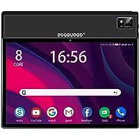 Tablet 10.1 Pulgadas, DUODUOGO Android 10 5G WiFi 4G LTE Tablet, 6GB RAM+128GB ROM, Octa-Core, Batería 7000mAh, Dual SIM…
