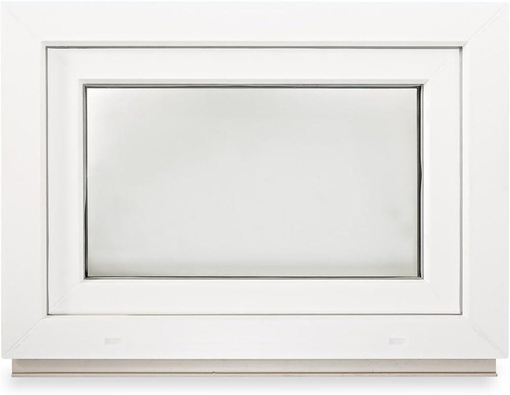Premium ALLE GR/Ö/ßEN Fenster Kellerfenster Kunststofffenster wei/ß Dreh-Kipp BxH:100x50 cm DIN Rechts 3 fach Verglasung