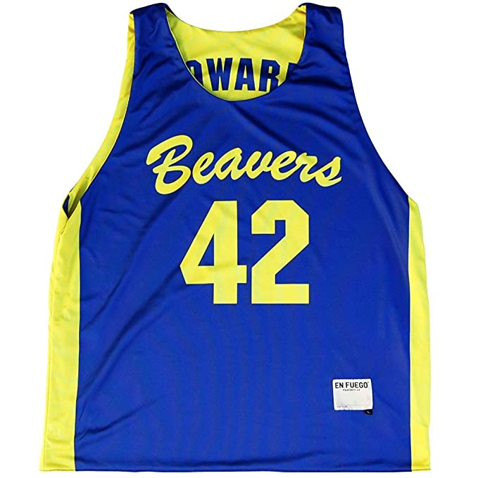 523b6f011 Teen Wolf Beavers Basketball Reversible