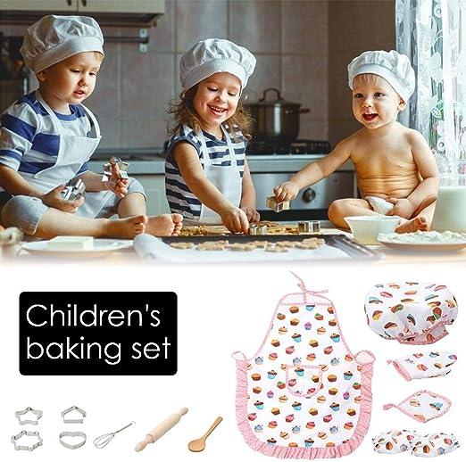 13pcs / Pack Disfraz De Cocina Para Niños Juego De Cocina De ...