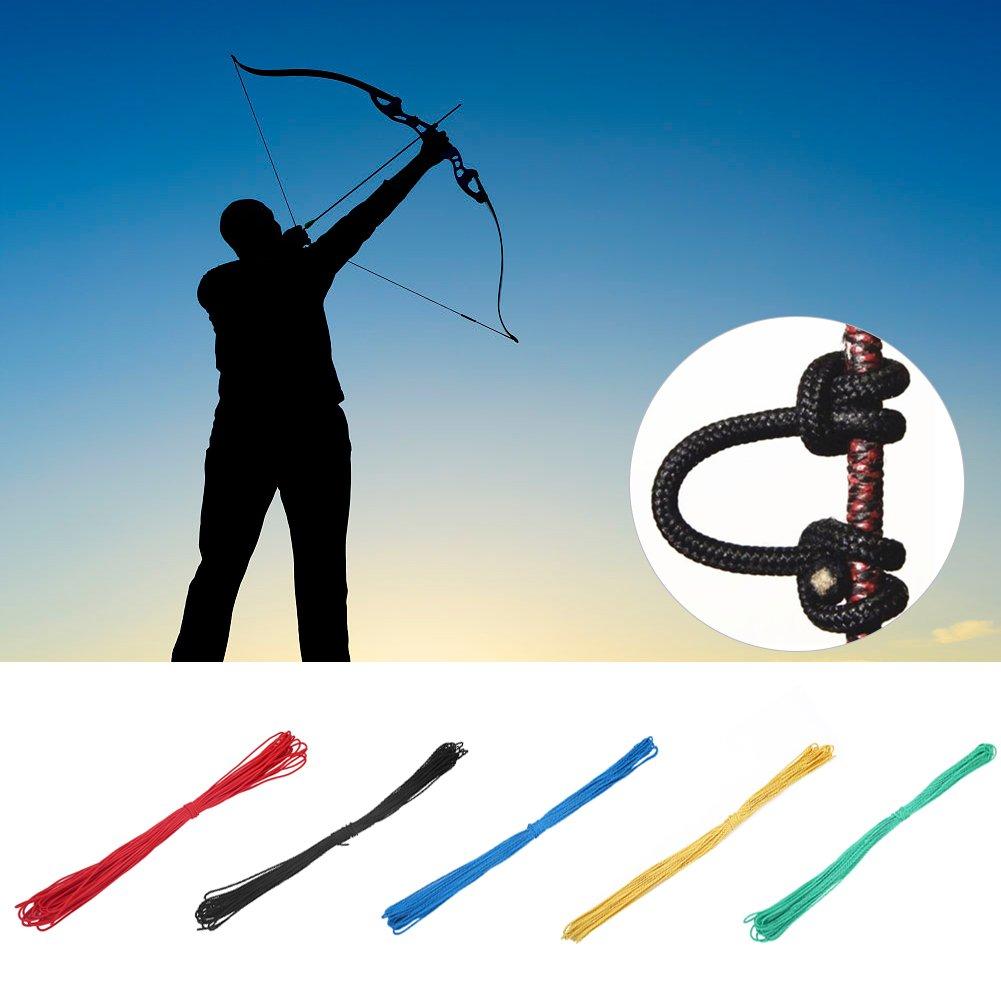 Bogenschie/ßen Compoundbogen String D Loop Bogenseil Nylon Nocke Safe Release D Loop Zubeh/ör f/ür die Jagd Training Compoundbogen Zubeh/ör 20 m Tbest D Loop String Schnur Bogenschnur