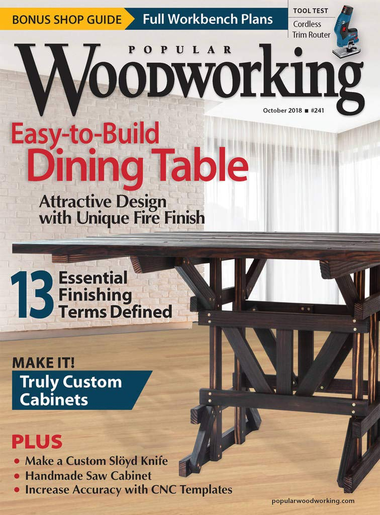 Popular Woodworking Print Kindle Amazon Com Magazines