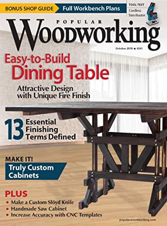 Popular Woodworking Amazon Com Magazines