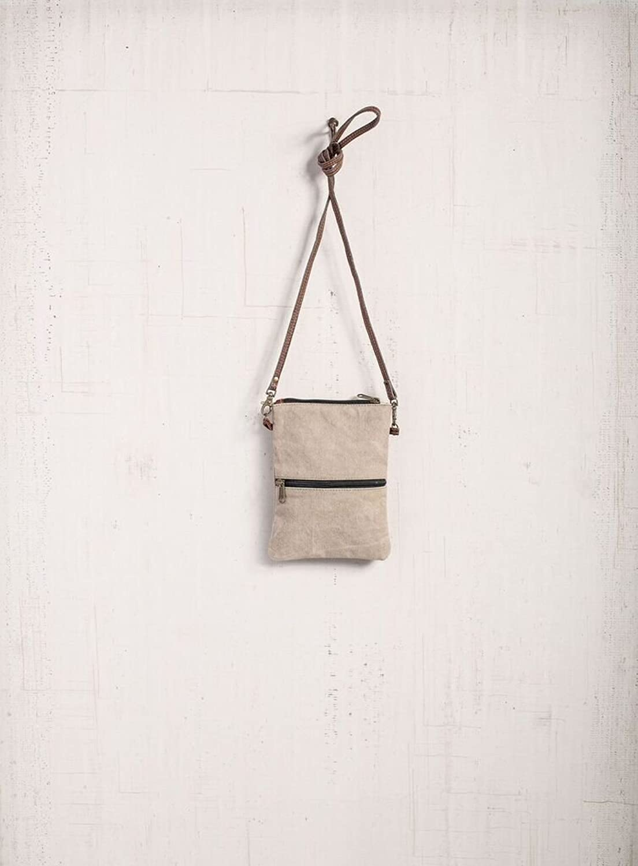 Mona B Admiral Small Crossbody Canvas Bag