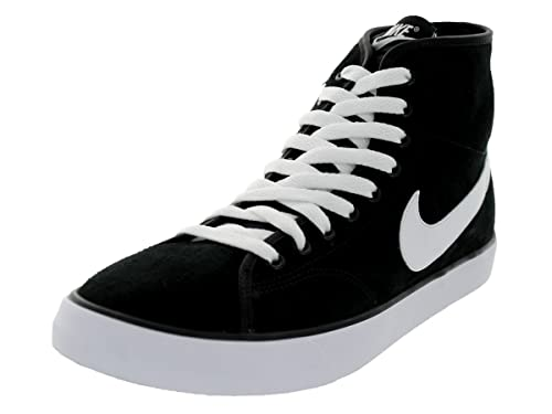 9f94c48961 Nike Men's Primo Court Mid Leather Black/White/White/White Casual Shoe 10