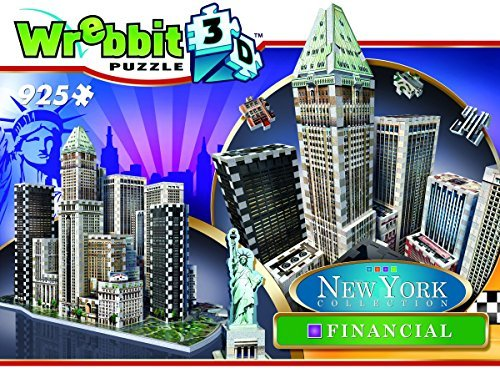 Wrebbit 3D New York Collection Financial District Puzzle by Wrebbit 3D