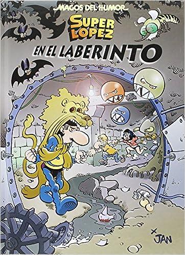 Superlópez. En el laberinto (Magos del Humor 173): Amazon.es ...