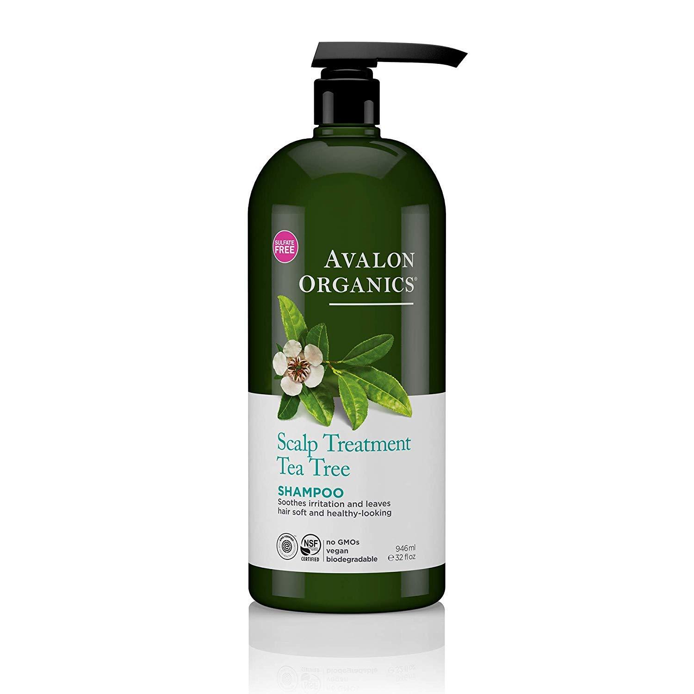 Avalon Organics Scalp Treatment Shampoo, Tea Tree, 32 Oz