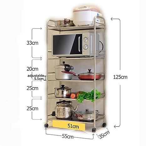 WSSF - Scaffali per cucina Racchetta da cucina a pavimento in ...