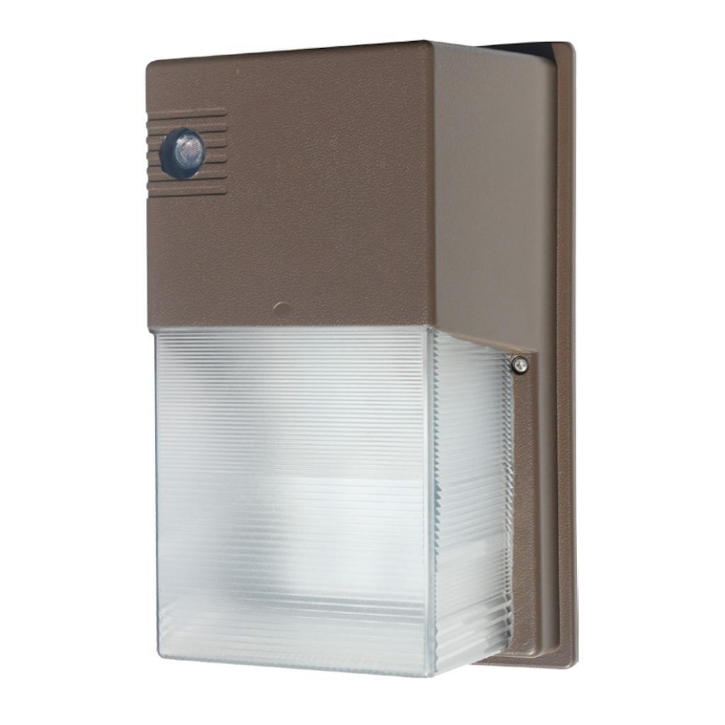 Eiko 09581 - 30 watt 120/277 volt 5000K LED Wallpack Cube Fixture (with Photocell) (WMC-3C-50K-U)