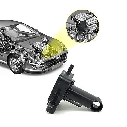 Mass Air Flow Sensor Meter 197400-2010 Replacement for Mazda 2 3 5 6 MX-5  74-50009 AF10029 Miata Protege 1 6L 1 8L 2 0L 2 3L 2 5L L4 6 3 0L 3 7L V6