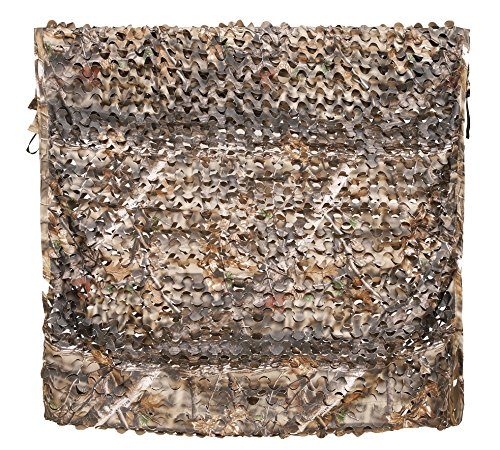 Auscamotek 300D Camo Netting Camouflage Netting 5x10 Feet Hunting Blinds Material for Military Party Backyard Decoration Brown