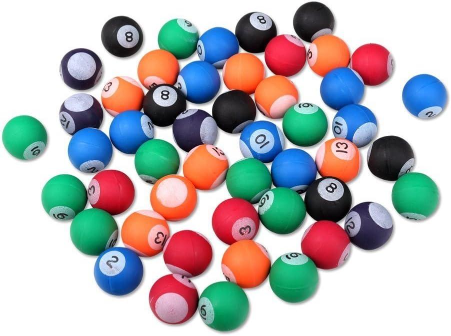 S/o 50 unidades pelotas bola diseño de billar 27 mm flummis Spring ...
