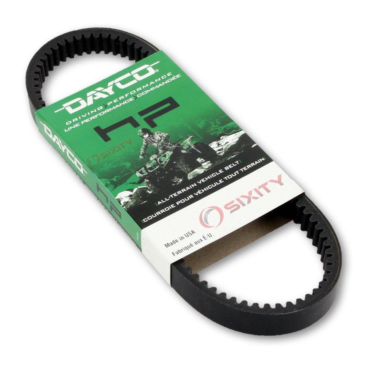 2011-2014 Polaris Sportsman 400 HO Drive Belt Dayco HP ATV OEM Upgrade Replacement Transmission Belts