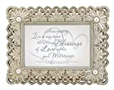 CB Gift Heartfelt Collection Anniversary Framed Tabletop Gift