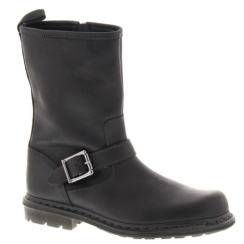 Dr. Martens Men's Falan Zip Rig Buckle Boot, Black, 7 UK/8 M US