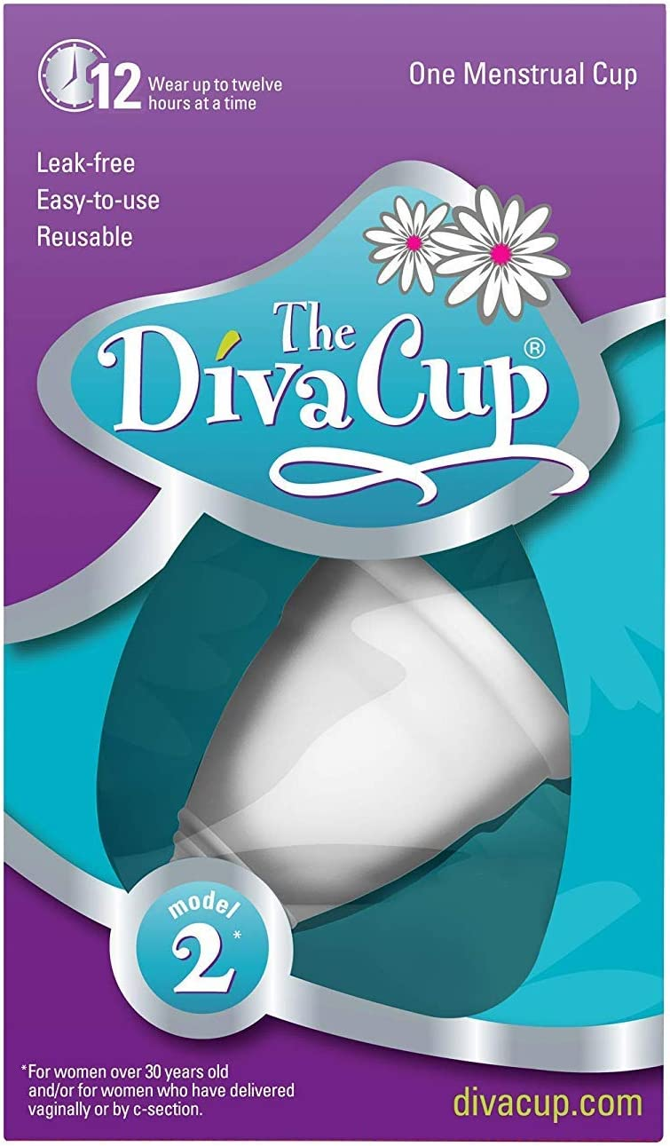 DivaCup Model 2 - Copa menstrual (tamaño grande): Amazon ...