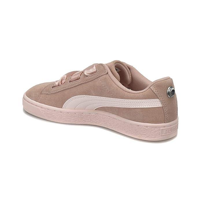 daf609e9efe6 Puma Basket Suede Heart Jewel JR-365138-01 - Age - Adulte, Couleur - Rose,  Genre - Femme, Taille - 38: Amazon.fr: Chaussures et Sacs