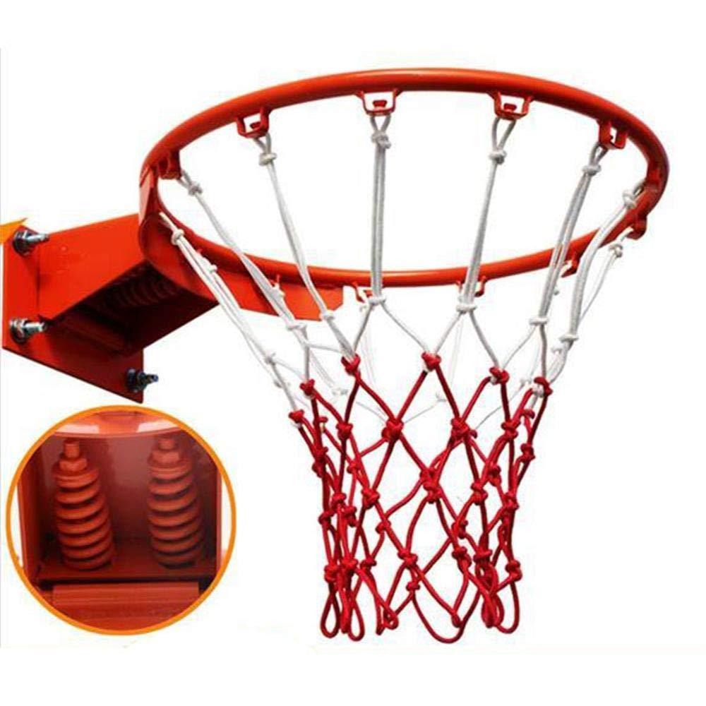 SUON Adulto Canasta Aro De Baloncesto Red De Canasta Interior Y ...