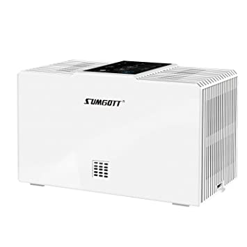 SUMGOTT Purificador de Aire, Filtro HEPA con 3 Etapas de Filtración, Elimina el 99