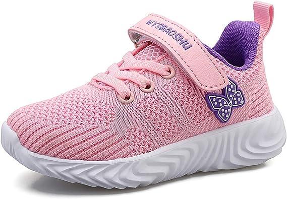 Decai Ligeras Zapatillas Deportivas Unisex Niños Zapatillas de Correr Niño Zapatos Deportivo Transpirable Niña Zapatos de Running Deportes de Exterior Interior: Amazon.es: Zapatos y complementos