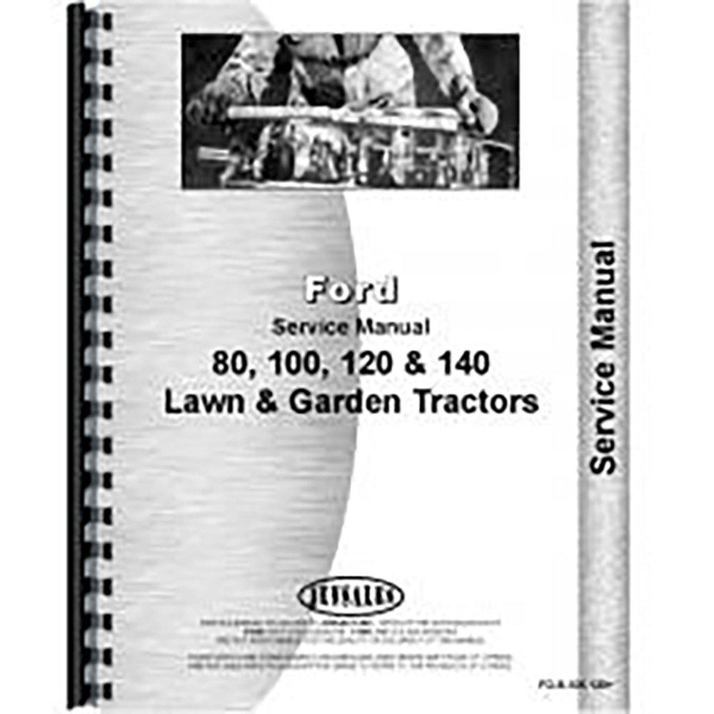 Amazon.com: New Ford 80 120 Lawn & Garden Tractor Service Manual:  Industrial & Scientific