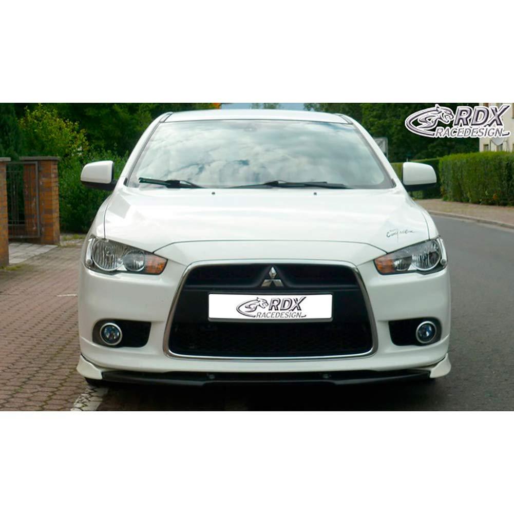 RDX Front Spoiler VARIO-X Lancer Sportback 2008 Front Lip Splitter