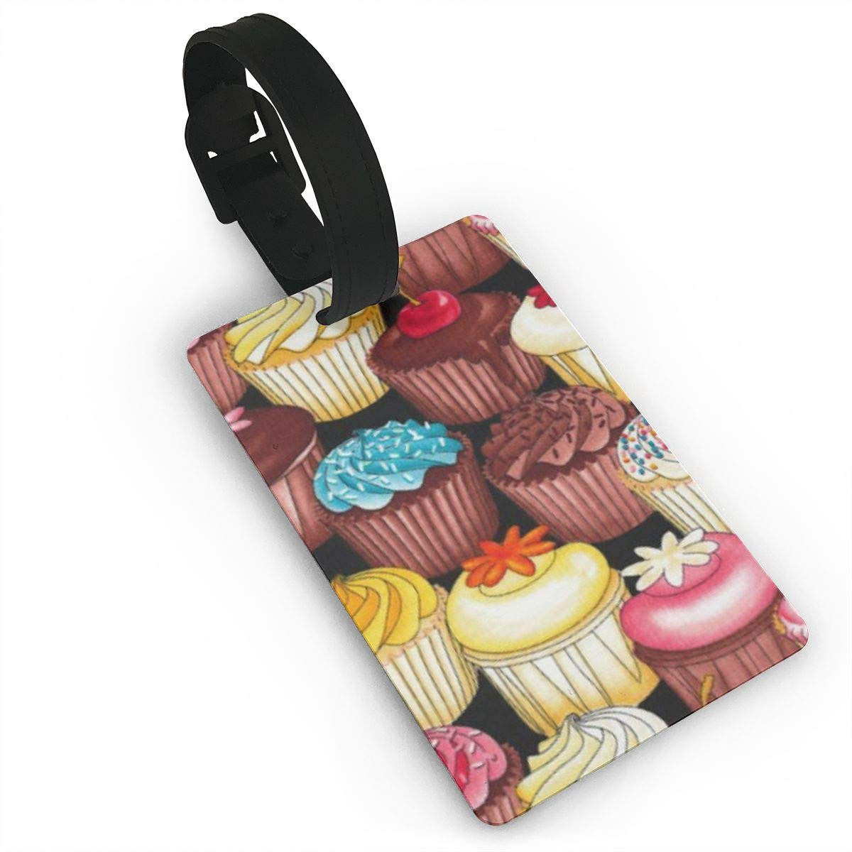 Cupcakes Multi Chef Luggage Tags Bag Travel Labels For Baggage Suitcase