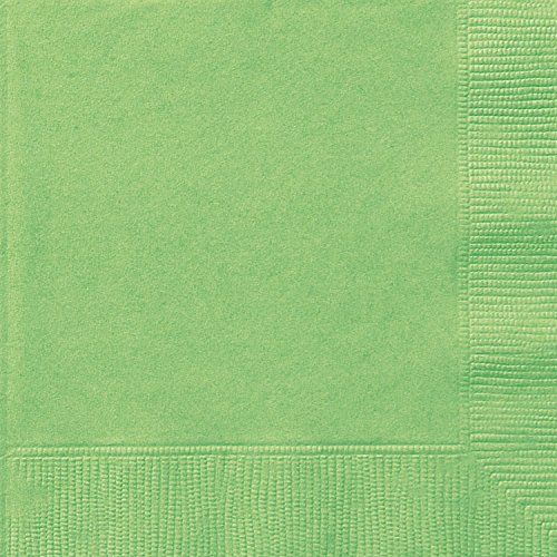 (Lime Green Beverage Napkins, 20ct)