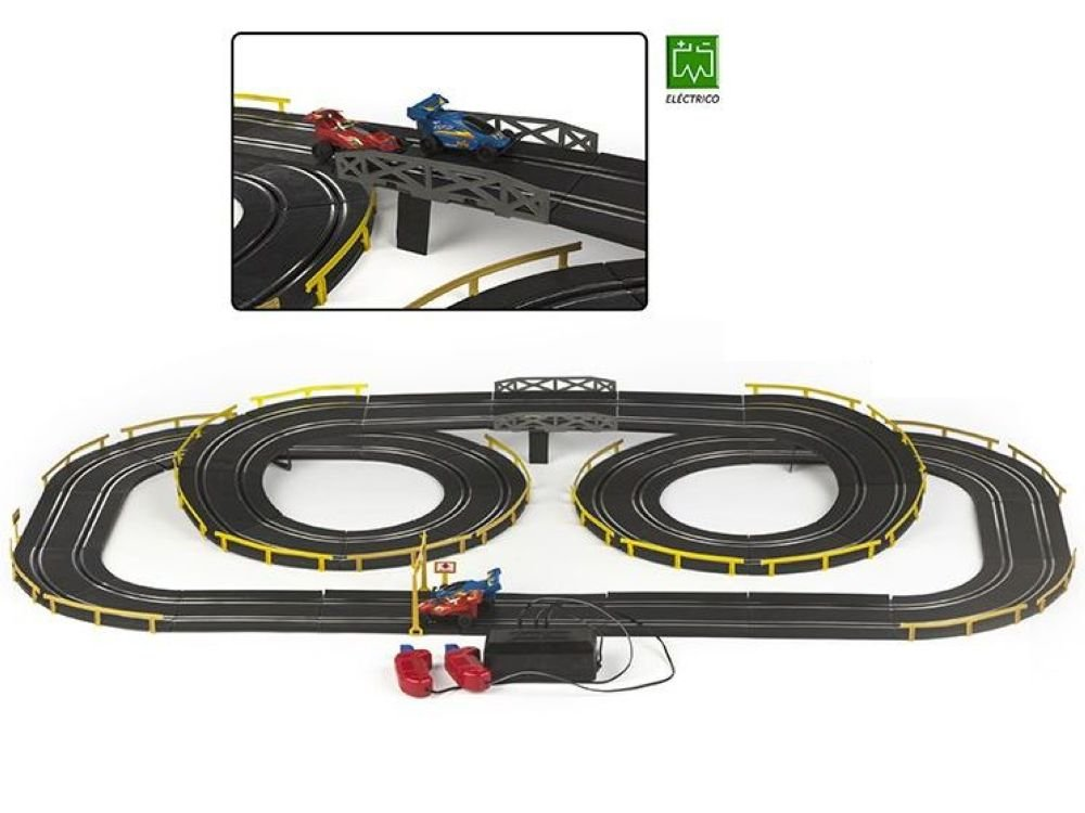 well-wreapped Pista Coches Slot 660cm - petdeoccidente.com