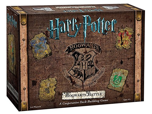 Harry Potter Card Games (Harry Potter Hogwarts Battle Cooperative Deck Building Card Game | Official Harry Potter Licensed Merchandise | Harry Potter Board Game | Great gift for Harry Potter Fans | Harry Potter Movie Artwork)